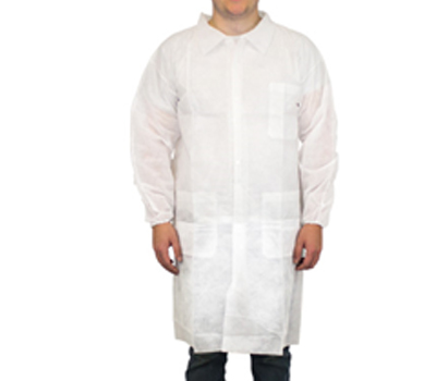 Polypropylene Lab Coats